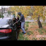 """Видео """"Новости-N"""": В Николаеве полиция остановила депутата на Maserati по подозрению в пьяной езде"""