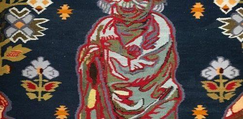 """Традиционные украинские ковры с нетрадиционными элементами узора (6 фото)"""">"""