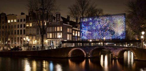 """Амстердамский фестиваль света украсил городские улицы световыми инсталляциями (9 фото)"""">"""