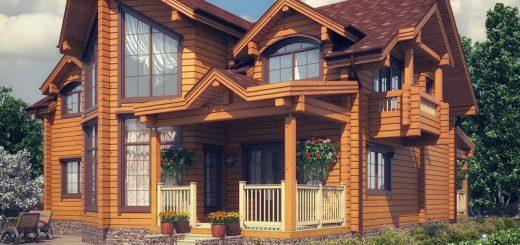 Интересные факты о брусовых домах