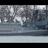 Опубликовано видео задержанных ФСБ кораблей ВМС Украины. Последние новости