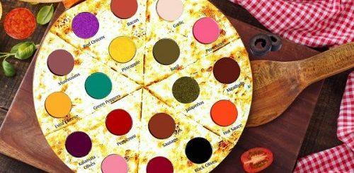 Теперь вы можете купить палитру теней для век, которая выглядит как пицца (6 фото)