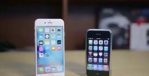 iPHONE 1 ПРОТИВ iPHONE 6S