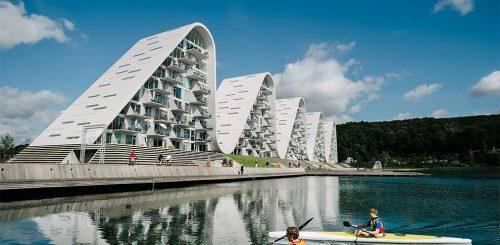 """В Дании построили необычный волнообразный жилой комплекс (6 фото)"""">"""