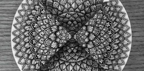"""Впечатляющие мандалы и дзен-танглы 15-летней художницы (28 фото)"""">"""