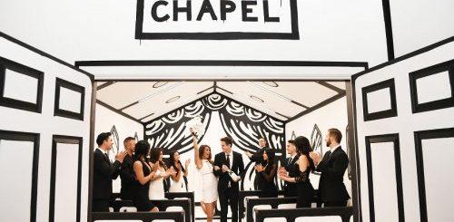 """Теперь можно пожениться в чёрно-белой """"нарисованной"""" часовне в Вегасе! (10 фото)"""">"""