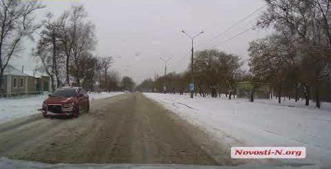 Видео Новости-N: В Николаеве не чистят дороги 8 января 2018