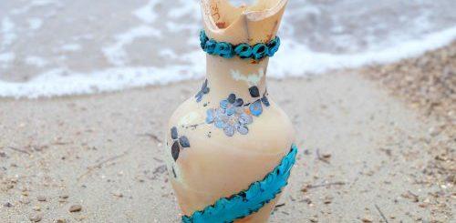 """Словенская художница создаёт украшения ручной работы, а элементы морской тематики для них находит... прямо на пляже (26 фото)"""">"""