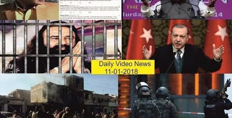 11- 01- 2019 Daily Latest Video News  #Turky #Saudiarabia #india #pakistan #America #Iran