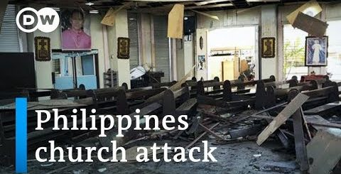 Philippines church attack: Bomb blasts in Jolo during Mass | DW News