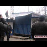 """Видео """"Новости-N"""": В Николаеве демонтируют большую часть рынка «Минутка»"""