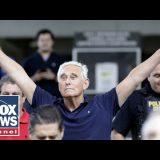 Roger Stone speaks outside court after arrest in Mueller probe