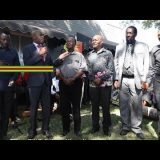 Zim News: Pictures & Videos: Chamisa Attends Oliver Mtukudzi's Funeral