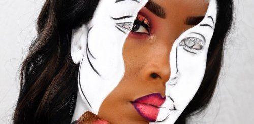 """Британская визажист-самоучка рисует на своём лице сногсшибательные иллюзии (27 фото)"""">"""