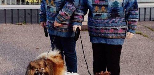 """Финская рукодельница вяжет двойников своих односельчан, которых почти не отличить от реальных людей (9 фото)"""">"""