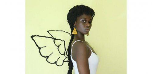 """Парикмахер из Кот-д'Ивуара создаёт на своей голове невероятные скульптуры из дредов (19 фото)"""">"""