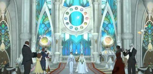 """Теперь в Японии можно пожениться в стиле онлайн-игры Final Fantasy XIV (12 фото + видео)"""">"""