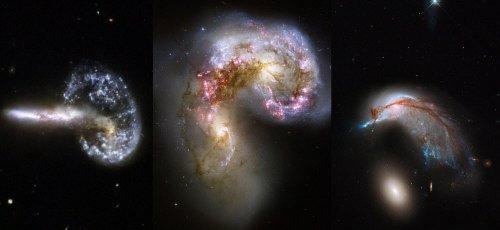 """Атлас пекулярных галактик Хэлтона Арпа (12 фото)"""">"""