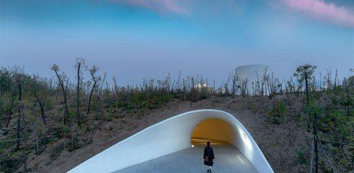 """Подземный музей, построенный внутри песчаной дюны (15 фото)"""">"""