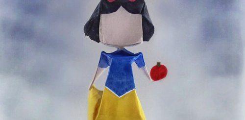 """Миниатюрные оригами, вдохновлённые персонажами поп-культуры (23 фото)"""">"""