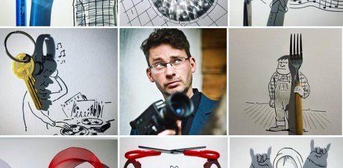 """Флешмоб #artvsartist: художники в Instagram делятся своими фотографиями в окружении собственных работ (10 фото)"""">"""