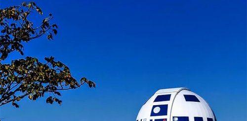 """Университетский профессор превратил обсерваторию в R2-D2 (12 фото)"""">"""