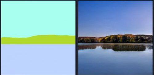 """Программа от NVIDIA с помощью искусственного интеллекта за секунды превращает примитивные наброски в фотореалистичные пейзажи (12 фото + видео)"""">"""