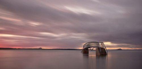 """Мост в никуда: необычный мост Белхейвен в Шотландии (7 фото)"""">"""
