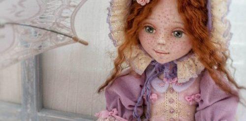 """""""Живые"""" текстильные коллекционные куклы от подмосковной художницы (8 фото)"""">"""