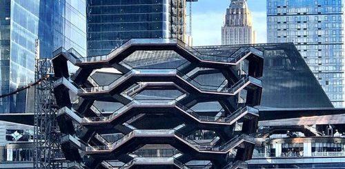 """Лестницы Хадсон Ярдс: новая туристическая достопримечательность Нью-Йорка (9 фото)"""">"""