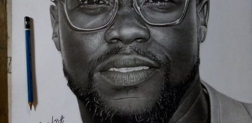 """Талантливый нигерийский художник нарисовал реалистичный портрет Кевина Харта, и американский актёр ответил ему в Twitter (11 фото)"""">"""
