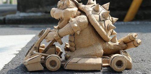 """Талантливая японская художница создаёт потрясающие скульптуры из обычных картонных коробок (35 фото)"""">"""