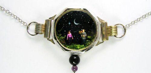 """Художник превращает старые часы в миниатюрные миры (27 фото)"""">"""
