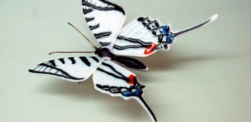 "Стеклянные бабочки Лауры Харт (11 фото)"">"