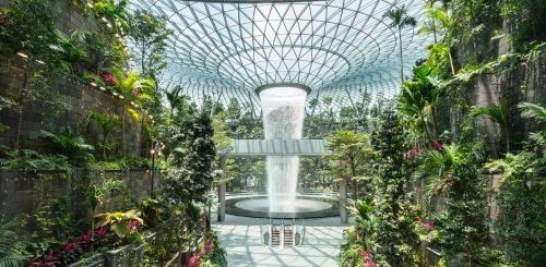 """Самый высокий в мире крытый водопад в сингапурском аэропорту Jewel Changi Airport (8 фото)"""">"""