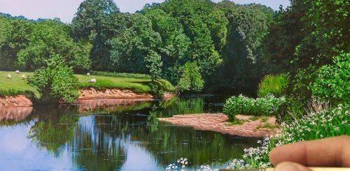 """Гиперреалистичные пейзажи Майкла Джеймса Смита, которые можно запросто принять за фотографии (12 фото + видео)"""">"""