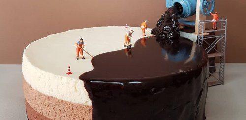 """Итальянский кондитер превращает десерты в миниатюрные миры (21 фото)"""">"""