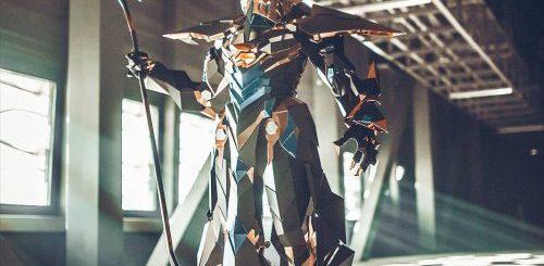 """Гейм-дизайнер из Швейцарии создала костюм Анубиса, выглядящий так, будто это компьютерная графика (13 фото)"""">"""