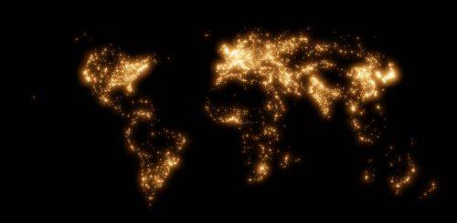 """Карты мира от Питера Этвуда, которые знакомят с инфраструктурой нашей планеты (5 фото)"""">"""