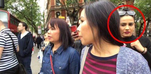 """Тайские туристки случайно сняли на видео сцену собственного ограбления: девушки оказались жертвами группы карманников (7 фото + видео)"""">"""