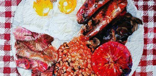 "Аппетитные вышитые картины Хлои Эми Эвери (10 фото)"">"
