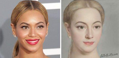 """Искусственный интеллект показывает, как бы выглядели портреты знаменитостей в эпоху Возрождения (28 фото)"""">"""
