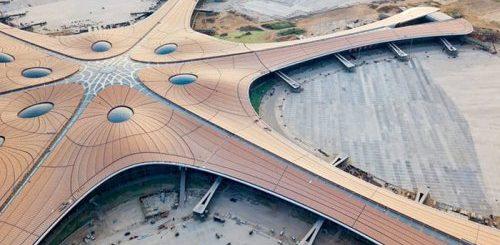 """В Пекине открывается новый аэропорт с крупнейшим в мире терминалом (15 фото)"""">"""