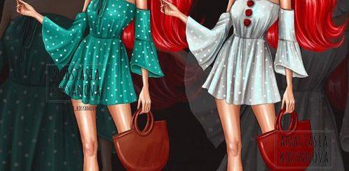 """Российская художница нарядила диснеевских принцесс в хэллоуинские костюмы (8 фото)"""">"""