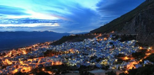 "Посетите голубую жемчужину Марокко – город Шефшауэн (13 фото)"">"