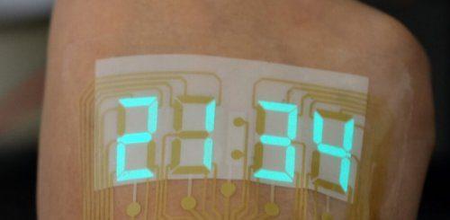 """Инновационный дисплей как тип временной татуировки (3 фото)"""">"""
