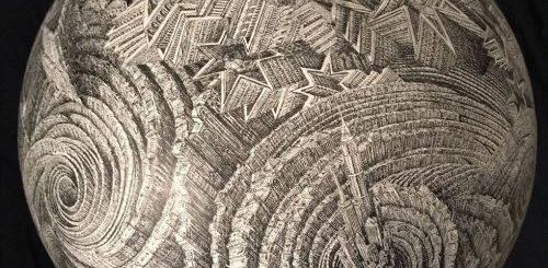 """Невероятные городские лабиринты в иллюстрациях Бенджамина Сака (11 фото)"""">"""