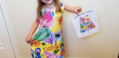"""Благодаря этой компании любой детский рисунок можно превратить в одежду (22 фото)"""">"""