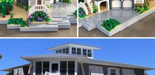 """Нью-йоркский дизайнер воссоздаёт дома из LEGO (14 фото)"""">"""
