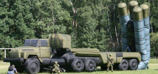 Надувная армия России: инструмент стратегической хитрости (5 фото + 2 видео)